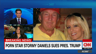 Ex Porn Star Stormy Daniels Sues Trump, He Never Signed 'Hush Agreement' 1