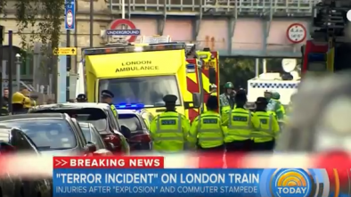 Explosion At London Subway Station Leaves 18 People Injured