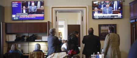Fake News Media Get 1st Taste of Impeachment Access Restrictions 1