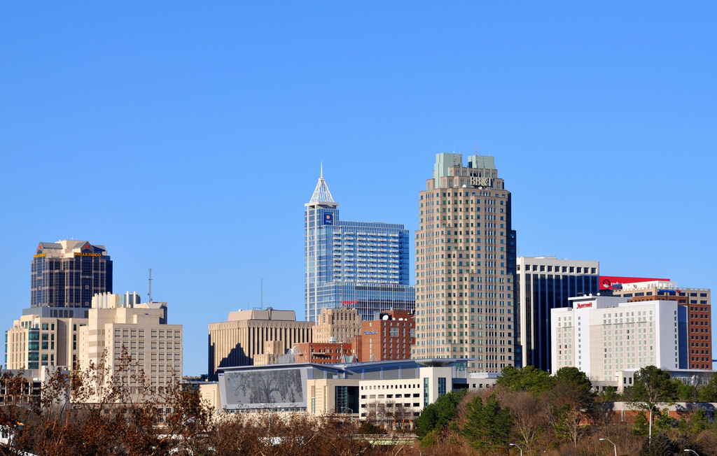 Raleigh skyline photo