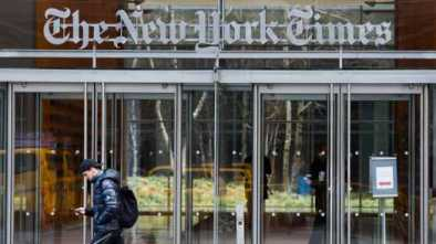 FAKE NEWS: NYTimes Admits Front Page Climate Change Article was Wrong