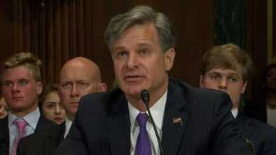 FBI Director Nominee: 'I Do Not Consider Mueller to Be on a Witch Hunt' 1
