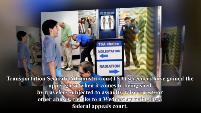 Fed Ct Decides TSA Is Above the Law