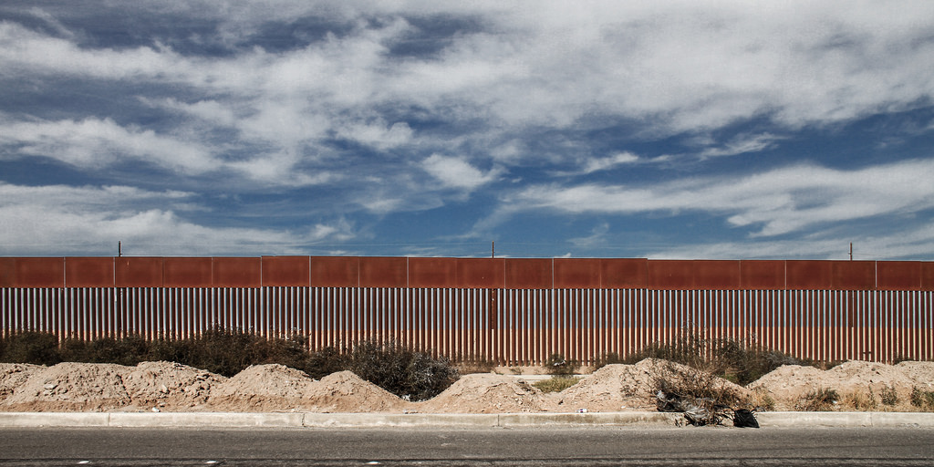 US Mexican border photo