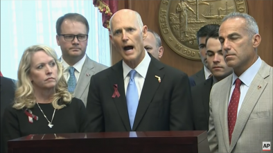 FL Gov. Rick Scott Signs $400 Million Gun Control Bill