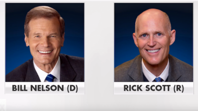 FL Gov. Scott Demands Sen. Nelson Provide Proof of Russian Election Influence
