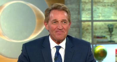 Flake Confirms He Won't Challenge Trump in 2020: 'I Will Not Be a Candidate'