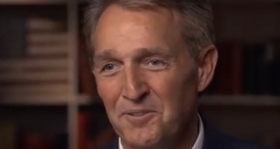 Flake Says He Feels Like a 'Man Without a Party'