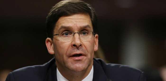 Former Army Secretary Mark Esper Nominated for Secretary of Defense