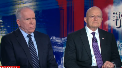 Former Intel Diretcor Chief James Clapper Turns on Brennan