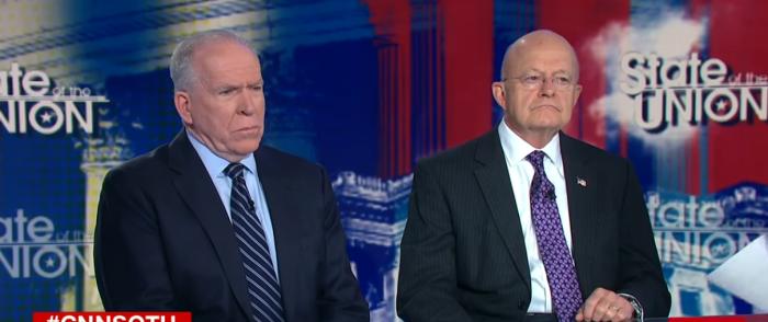 Former Intel Diretcor Chief James Clapper Turns on Brennan