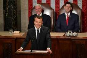 France's Macron Rebukes 'America First' Agenda