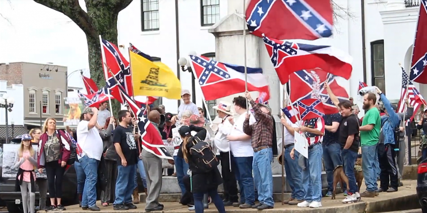 Freedom-Loving Patriots Rally Around Historic Confederate Monument in Oxford, Miss. 3