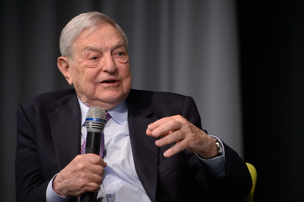 George Soros 2014 photo