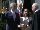 Gorsuch Joins the Supreme Court With Nod to Scalia