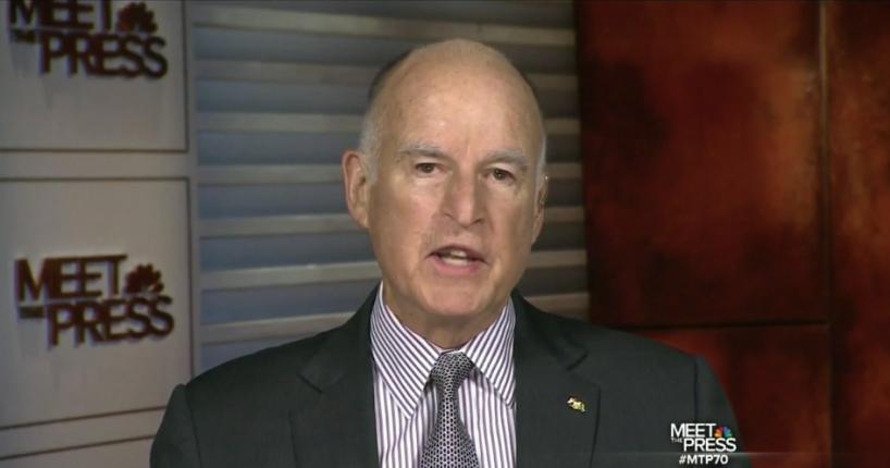 GOV. MOONBEAM: Dems a Mess Because of Koch Bros; Obamacare 'Stigmatized'