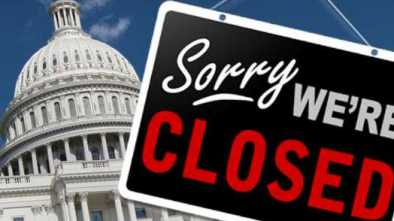 Government Shuts Down with Democrat Filibuster
