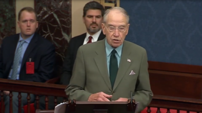 Grassley Hammers Power-Hungry, Hypocritical Dems in Senate Floor Speech