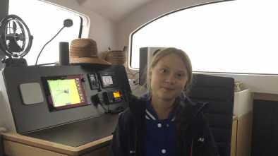 Greta Thunberg Hitches Low-CO2 Ride Across Atlantic