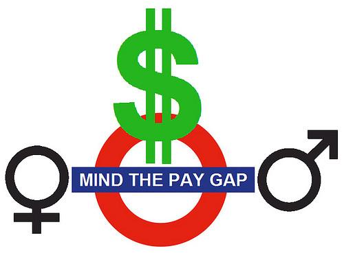 women pay gap photo