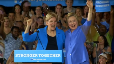 Hillary Clinton Is Reportedly Advising Elizabeth Warren's Campaign