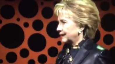 Hillary Clinton Trashes Men at Women's Conference