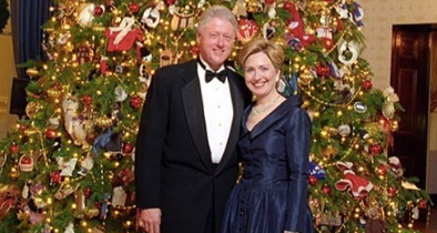 Hillary Clinton Trolled For Posting Old White House Photo On Christmas Day