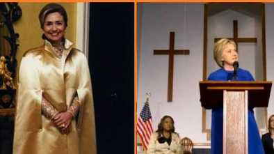 Hillary Goes From Seances And SpiritCooks To Bible Thumping