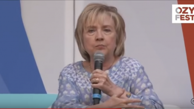 Hillary Looked Horrible at OzyFest