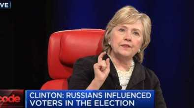 Hillary Now Blames Wikileaks & Infowars for Losing the Election