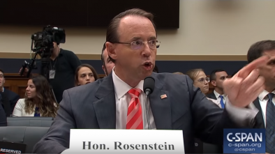 House Conservatives Reportedly Plan to Impeach Rod Rosenstein