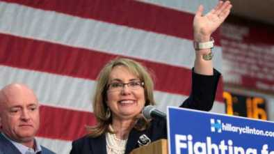 Husband of Gabby Giffords to Seek John McCain's Former Senate Seat