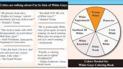 'I Am So Sick of White Guys' Coloring Book Combats 'White Privilege'