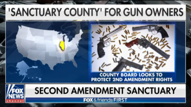 Illinois County Declares Itself a Pro-Gun Sanctuary
