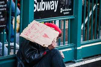 In DeBlasio's New York, Homeless Once Again Rule Subways