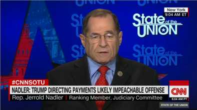 Incoming House Judiciary Chairman: Trump Might Have Committed 'Impeachable Offenses'