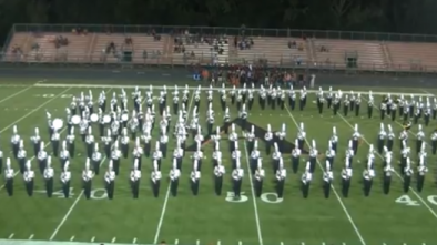 Iowa HS Marching Band Walks Off Field During National Anthem