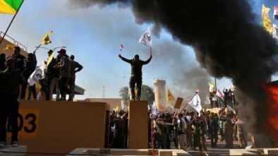 Iran-Backed Iraqi Militia Storms US Embassy in Baghdad