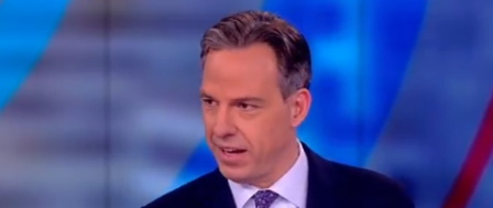 Jake Tapper Says He's 100 Percent Against Lies on 'The View'