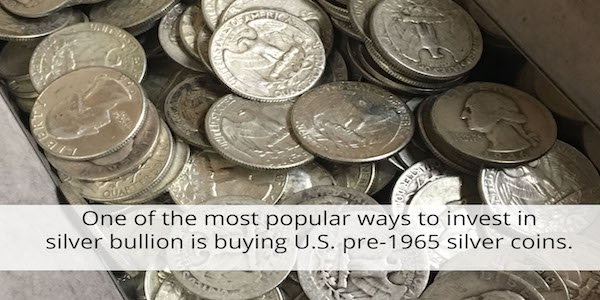 """Money Metals Exchange offers """"junk"""" Silver which is a great way to purchase silver bullion."""