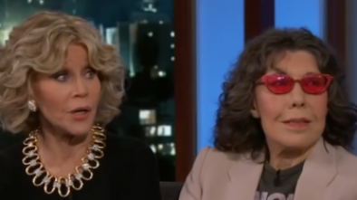 Jane Fonda Goes Full-Trump Looney Tunes on 'Jimmy Kimmel Live'