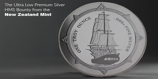 Money Metals Exchange can help you purchase the New Zealand Mint's HMS Bounty.