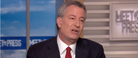 Jilted Bride Bill de Blasio Slams Amazon for Backing Out of Bad NYC Deal