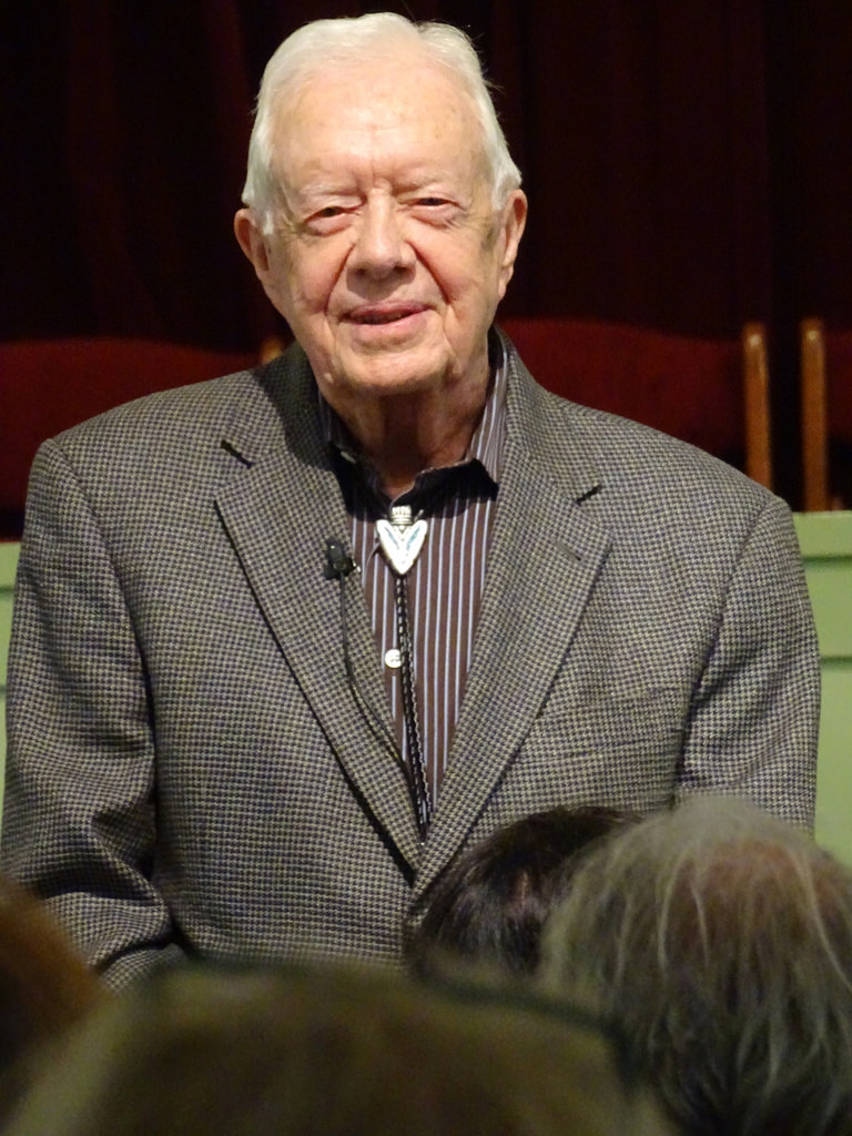 Jimmy Carter church photo