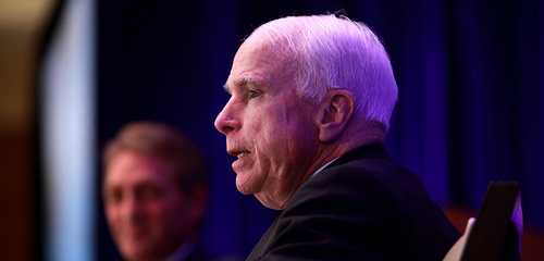 John McCain Hopes Trump Has Been 'Sucked In' by The Washington Establishment