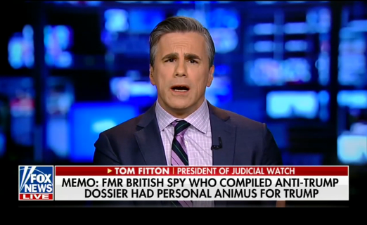 Judicial Watch: Nunes Memo 'Devastating Blow' to 'Mueller Investigation'