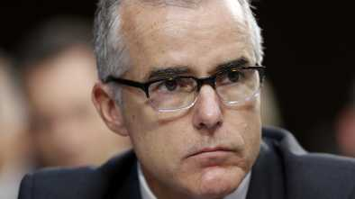Justice Dept Closes Case Against Ex-FBI Boss McCabe w/ No Charges