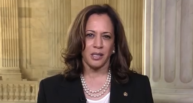 Kamala Harris Won't Vote for Kavanaugh Because It's 'the Swing Vote'