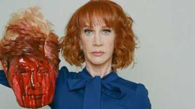 Kathy Griffin Apologizes for Photo with Bloodied Trump Mask