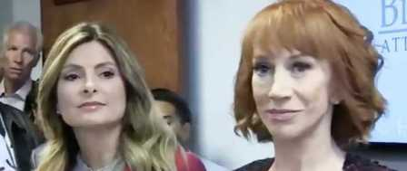 Kathy Griffin Politicizes the Trump Photo Controversy, Plays 'Poor Me'